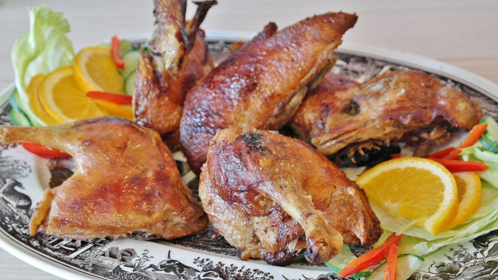 Try the delicious barbecued duck the next time you visit Kau Kau.